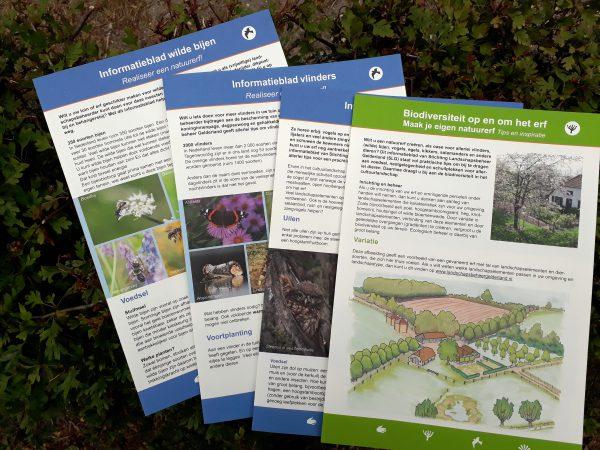 Infobladen biodiversiteit